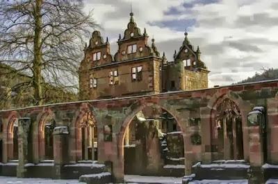 Monasterio del siglo XV en Alemania