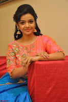 Nithya Shetty in Orange Choli at Kalamandir Foundation 7th anniversary Celebrations ~  Actress Galleries 125.JPG