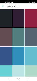 warna solid WhatsApp