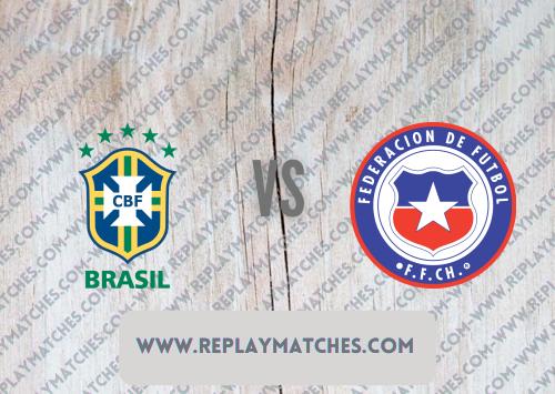 Brazil vs Chile -Highlights 03 July 2021