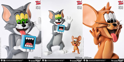"Tom and Jerry ""Get Animated"" Vinyl Figures by Greg Mike x Soap Studios x ToyQube x WB"