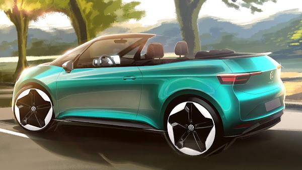 Volkswagen ID.3 conversível: elétrico silencioso pode chegar em 2023