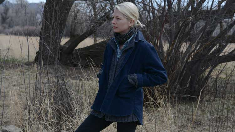 Michelle Williams ponders her life in Kelly Reichardt's new film Certain Women.