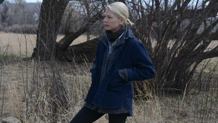 Michelle Williams ponders her life in Kelly Reichardt's new film Certain Women.