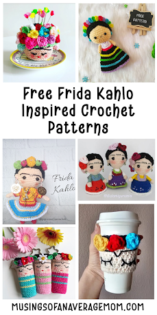 free Frida crochet patterns