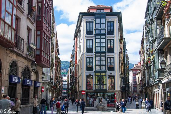 Casco viejo de Bilbao. Bilbao en un fin de semana
