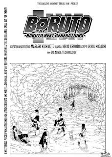 Update! Read Boruto Manga Chapter 20 Full English