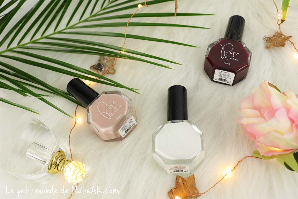 vernis à ongles cruelty free et vegan Pure by Valérie
