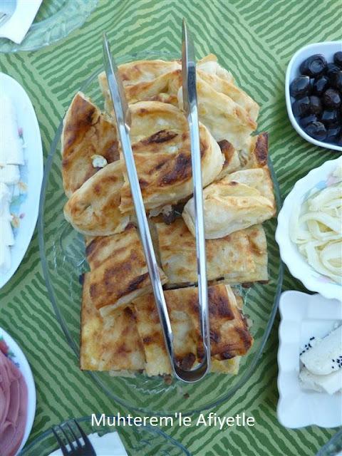 kahvaltı için börek önerisi