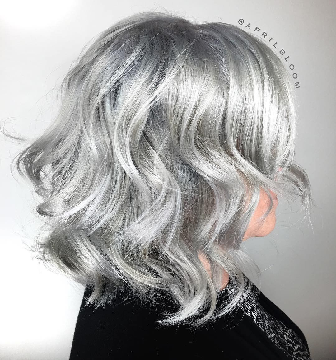 60 Amazing Silver Hairstyles