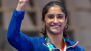Vinesh Phogat secures quota for 2020 Tokyo Olympics