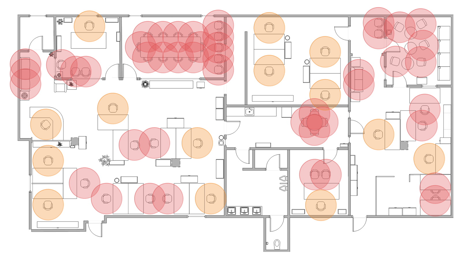 Build A Social Distancing Floor Plan In Tableau The Flerlage Twins Analytics Data Visualization And Tableau