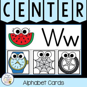 Click Here to Download This Alphabet Initial Sounds Matching Literacy Center Resource For Your Classroom Today!