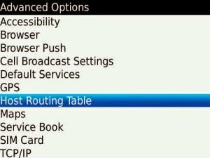 Cara melakukan HRT_Host Routing Table