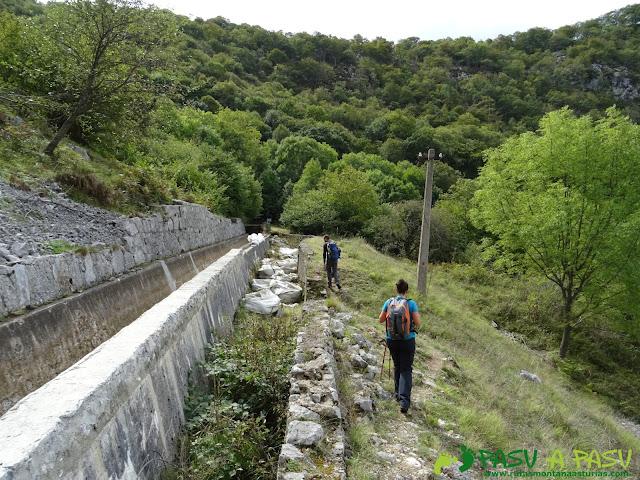 Canal de Reñinuevo: Zona sobre pradera