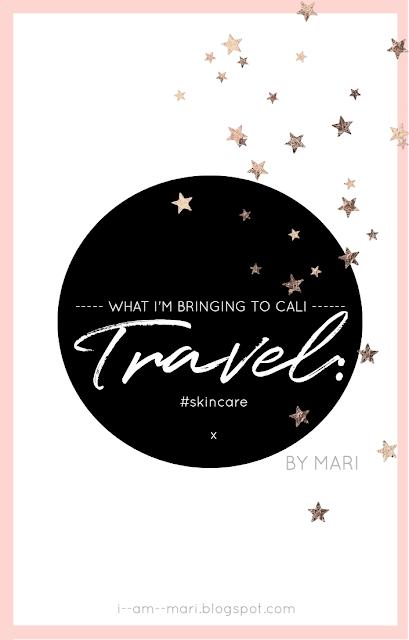 Travel Skincare Bag