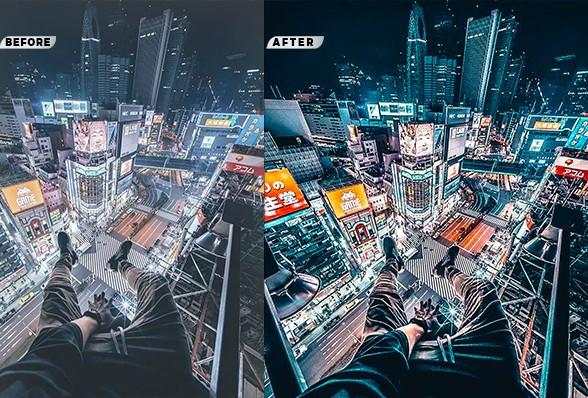 Một số ảnh minh họa về action Cinematic City