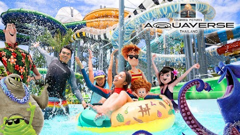 World's First Columbia Pictures Theme and Waterpark, AQUAVERSE, Opening in Thailand on October 2021