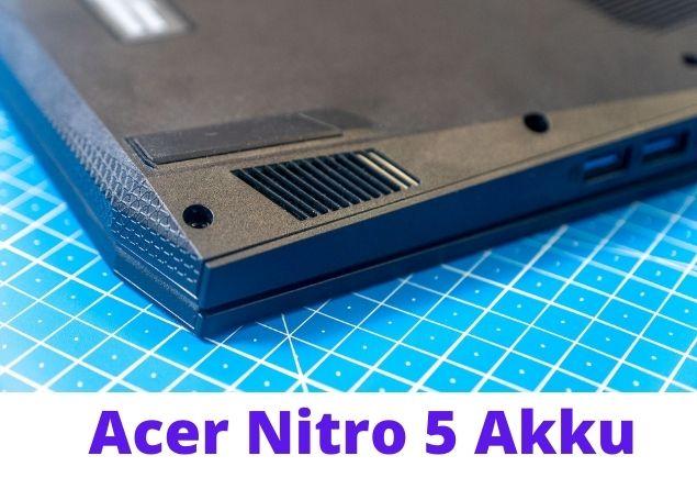 Acer Nitro 5 Design Display