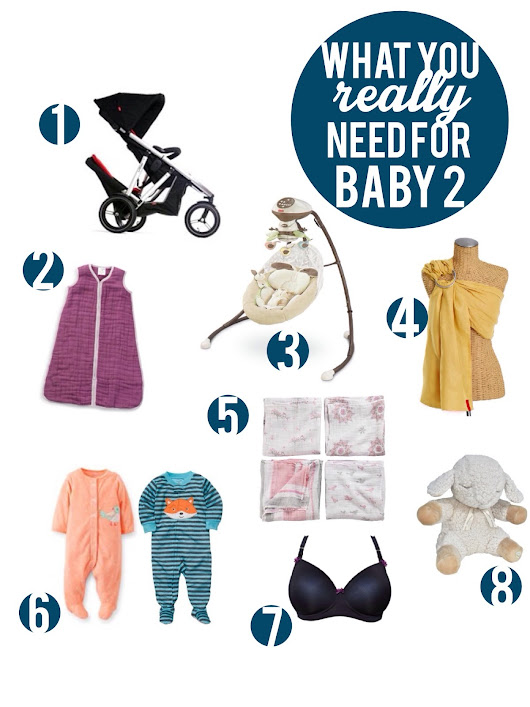 What You Really Need For Baby #2