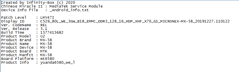 Micronix MX-M8 MT6580 Tested Flash File Free Download