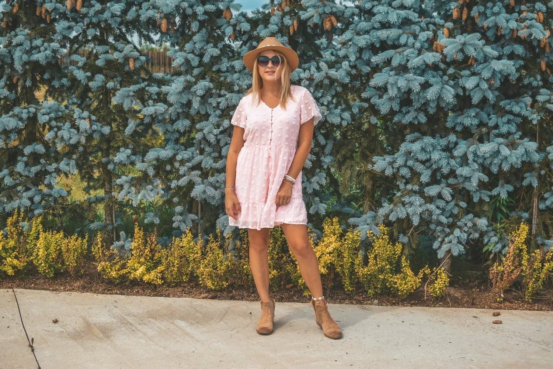 Pastelowe sukienki Blencot - Amazon
