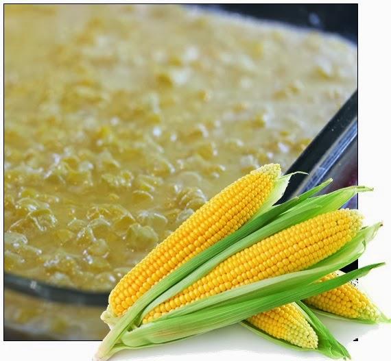 Receita Creme de milho