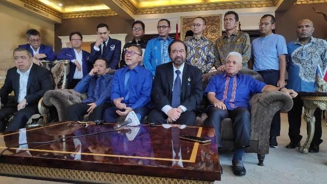 Survei: Elektabilitas PDIP - Gerindra Turun, NasDem - PAN Naik