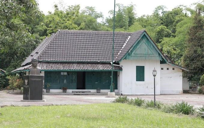 Rumah Peninggalan dr. Krt Radjiman Wedyadiningrat Di Ngawi Terlihat Bersih Dan Terawat