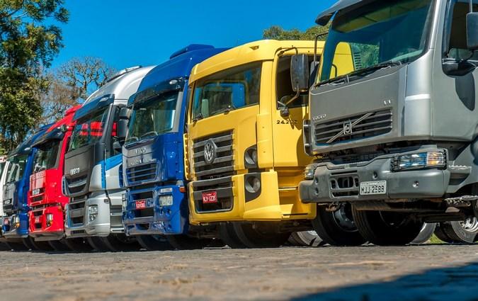 Vendas de caminhões seminovos crescem 26% no primeiro trimestre