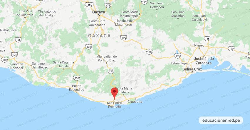 Temblor en México de Magnitud 4.8 (Hoy Martes 23 Junio 2020) Sismo - Epicentro - San Pedro Pochutla - Oaxaca - OAX. - SSN - www.ssn.unam.mx