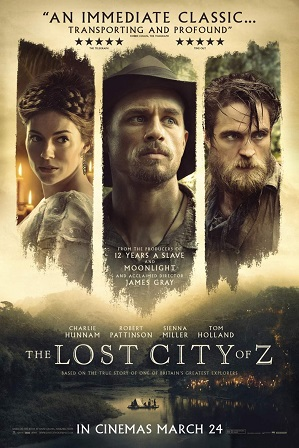 The Lost City of Z (2016) Full Hindi Dual Audio Movie Download 480p 720p Bluray