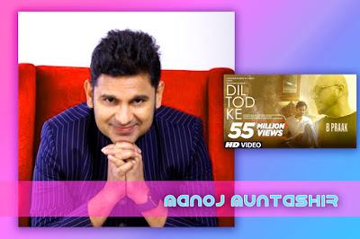 Dil Tod Ke Song Lyrics and Karaoke by B Praak lyrics by Manoj Muntashir