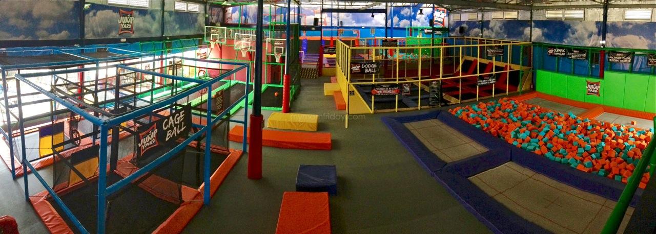 My Mom Friday Jump Yard Indoor Trampoline Park Opens In Frontera Verde Pasig