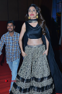 Actress Pragya Jaiswal Stills in Black Dress at Om Namo Venkatesaya Audio Launch Event  0001.JPG