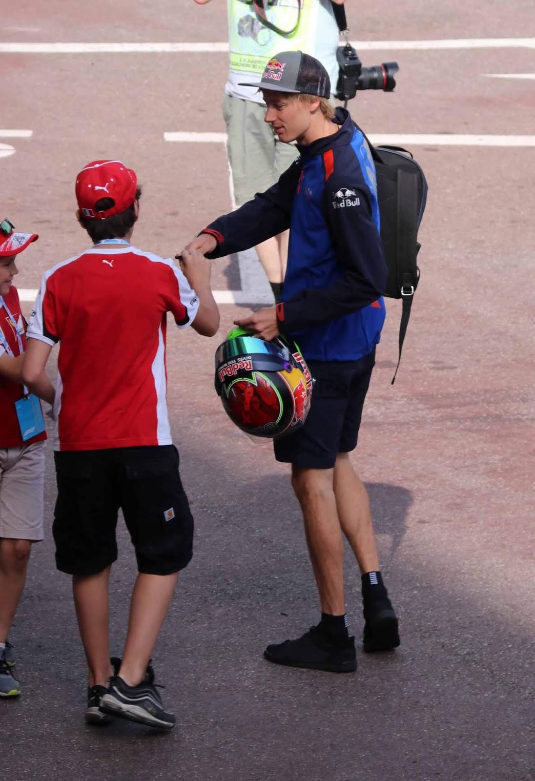 Ensimmäisen vuoden kuljettaja Toro Rosso -tallissa.