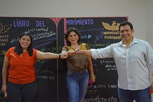 Movimiento Ciudadano instala su Comisión Operativa Municipal en Mérida.
