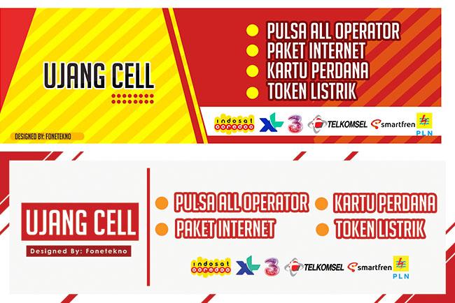 Download Gratis Contoh Spanduk Konter Pulsa dan Kuota ...