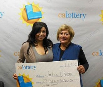 Julie Cervera Won $23 million back in 2012