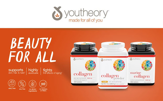 Youtheory Collagen Advanced with Vitamin C, 290 Count