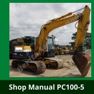Komatsu pc100-5 pc120-5