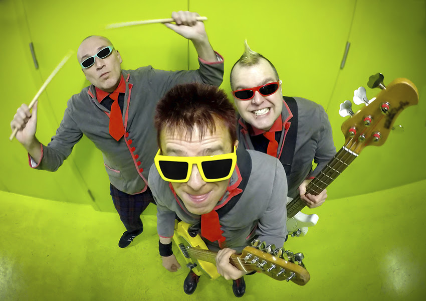 The Toy Dolls photo band