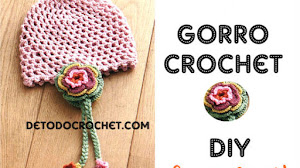 Gorro Crochet Super Fácil / DIY