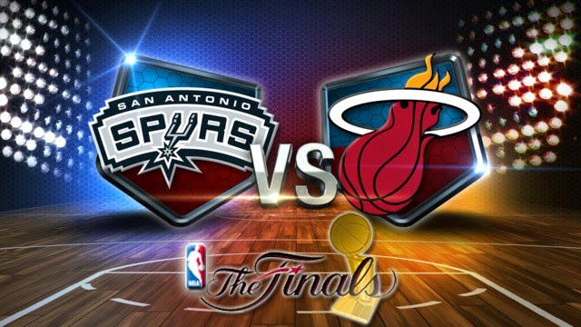 NBA 2014 The Finals Heat vs Spurs