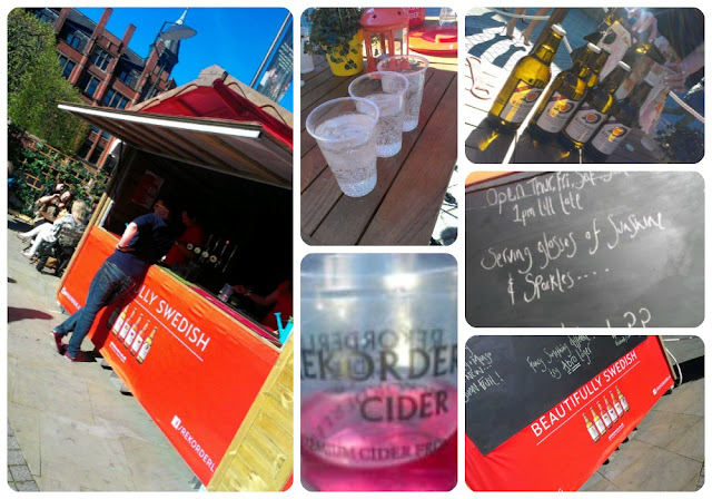 Manchester Summer Cider Garden Rekoderlig Great Northern Square