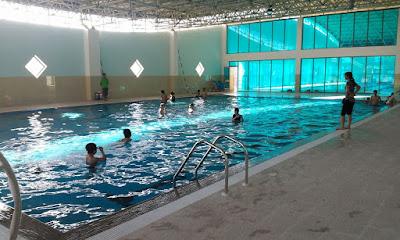 Bể bơi bốn mùa Olympia Việt Hưng
