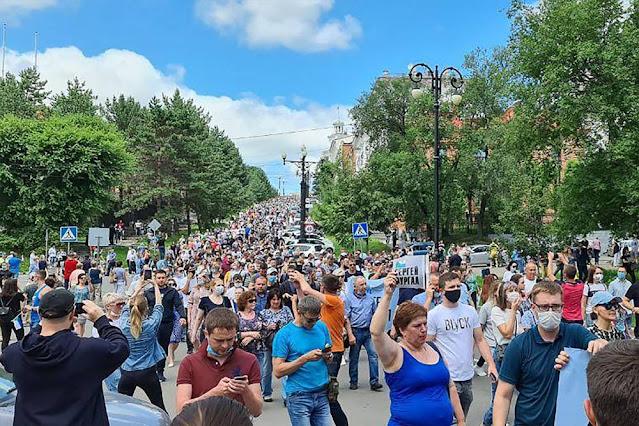 События в Хабаровске не покажут по федеральным каналам – СМИ
