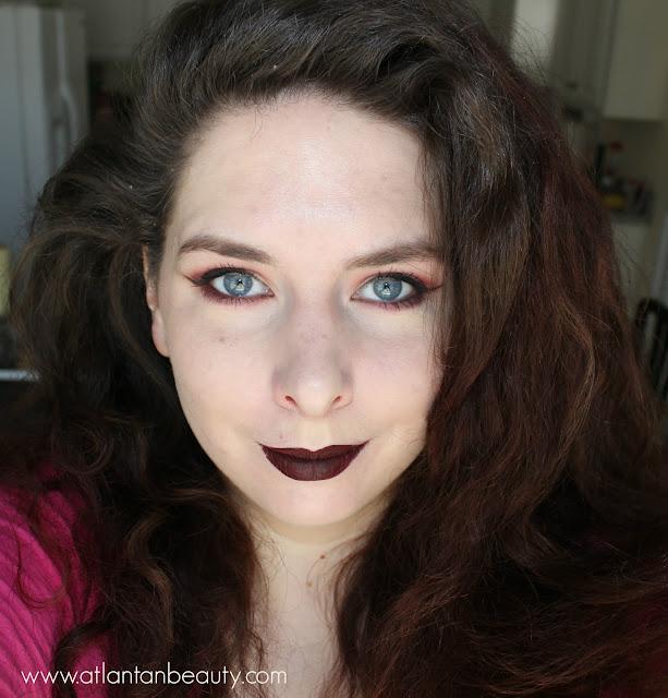 Dramatic fall makeup