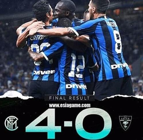 Inter vs Lecce - IGcuplikangoalsemalam