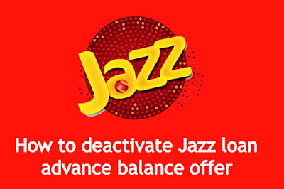 Jazz advance unsubscribe code - how to deactivate Jazz loan advance balance offer